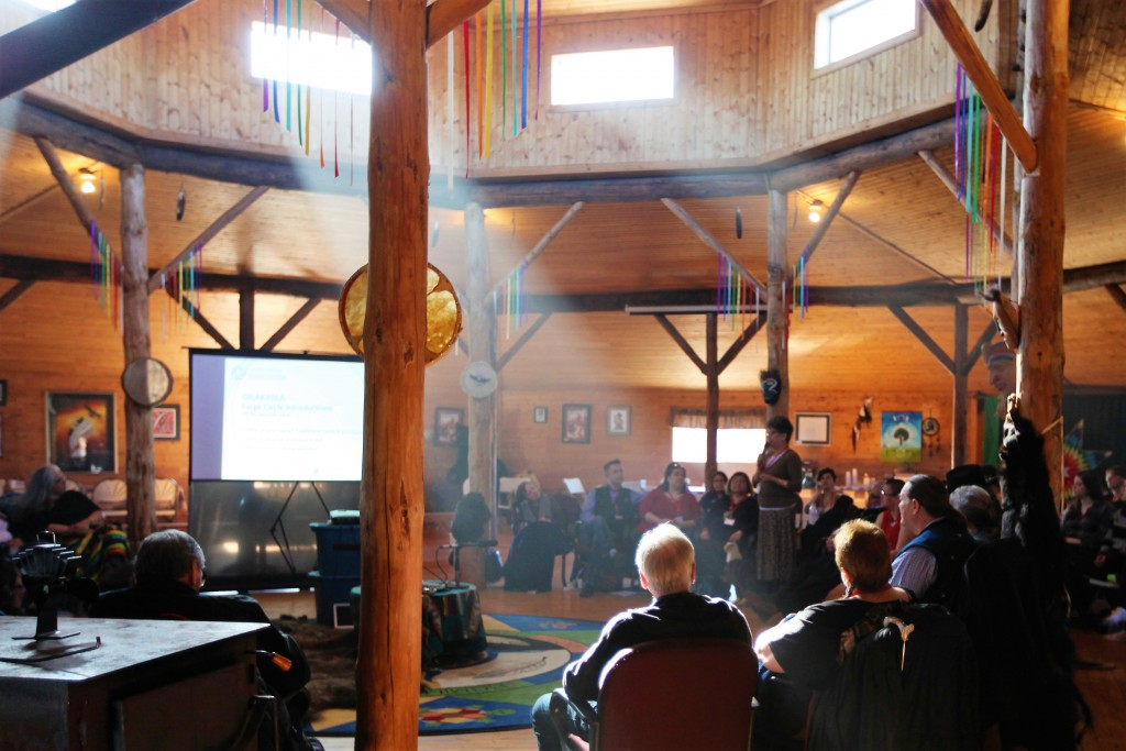 Dialogue circle at In the Spirit of Reconciliation: An Intergenerational Gathering