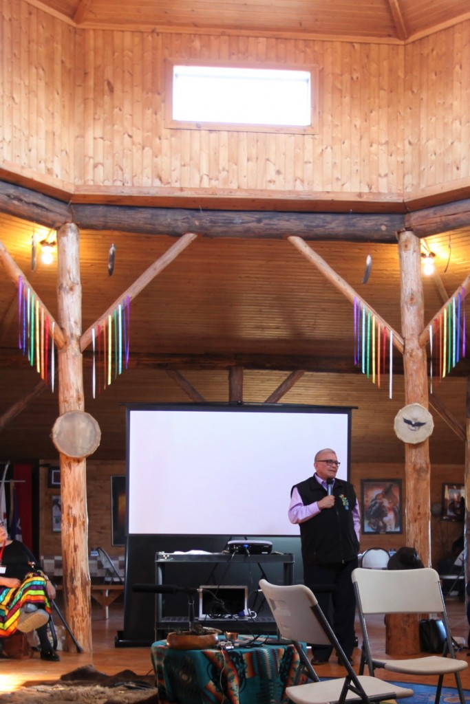 Chief Joseph at In the Spirit of Reconciliation: An Intergenerational Gathering